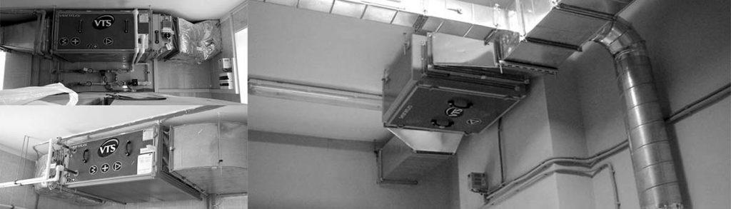 Техническое обслуживание приточно-вытяжных установок