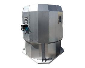 Вентилятор крышный с факельным выбросом потока ВКРФм ДУ